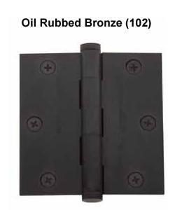 Baldwin Hinge 1035 Solid Brass Door Hinge 3 5 X 3 5