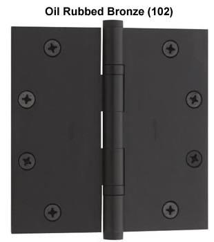 Baldwin Hinge 1051 Standard Weight Ball Bearing Door Hinge 5 X 5 Each