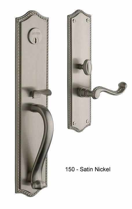 Baldwin Federal Style Solid Brass Handle Set Bristol