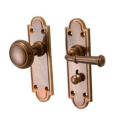 Merit Screen Door Privacy Latch Set With Arched