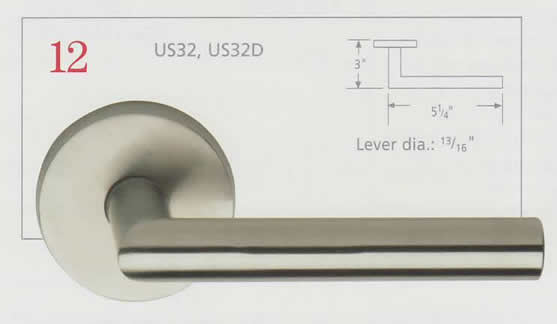 Omnia Stainless Steel Lever 10 Diagram