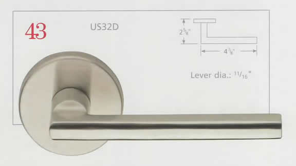 Omnia Stainless Steel Lever 43 Diagram