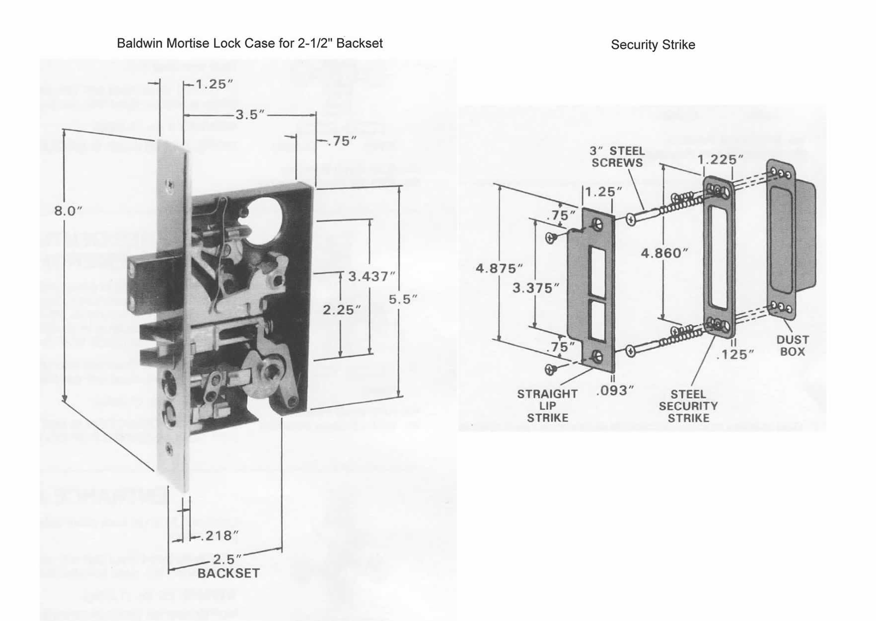 sargent mortise lock parts manual