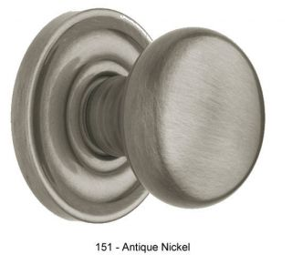 5405 Solid Brass Passage Latch Set Antique Nickel