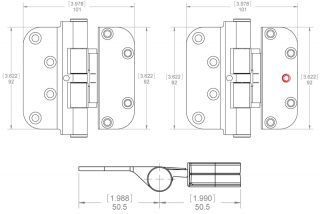 Hoppe Adjustable Hinge Dimensions