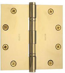 Baldwin Hinge #1051 in Polished Brass