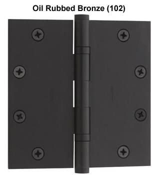 Baldwin Hinge #1051 in Oil Rubbed Bronze