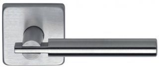 Omnia Stainless Steel Latchset