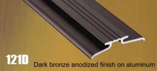 Dark Bronze Anodized Finish
